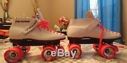 Roller Skates Riedell 125 RS1000 Womens Size 9 EUC