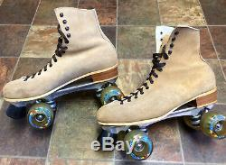 Roller Skates, Riedell 130 Boots, Sure-grip, Kryptonics, Mens 12, Beautiful