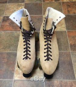 Roller Skates, Riedell 130 Boots, Sure-grip, Kryptonics, Mens 12, Beautiful
