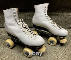 Roller Skates, Riedell 220, Century Plates, Giotto Wheels, Womens 6.5, Must See