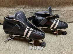 Roller Skates, Riedell 265 Invader Plates, Mens 8, Very Good Condition, See Pics