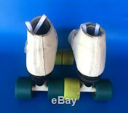 Roller Skates, Riedell 695 White, Mens 7.5, Womens 8.5. Reduced