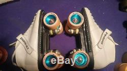Roller Skates Riedell Model 125-RS1000. EUC Men's Size 8 Women's Size 9