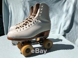 Roller Skates Riedell boots Douglas Snyder plate