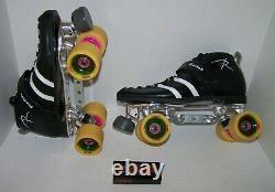 Slightly Used Riedell 265 Custom Leather Roller Skates Mens 11
