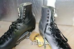 Snyder Super Deluxe Roller Skates, Riedell Boots, Size 11 Plate See Measurements