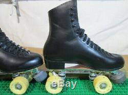 USA Riedell 220 Red Wing Mn. Roller Skates sz 8M SureGrip Century 6 Olympian 60mm
