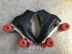 VINTAGE RIEDELL (Men's Size 9) ROLLER SKATES / SURE GRIP TRUCKS / KRYPTOS WHEELS