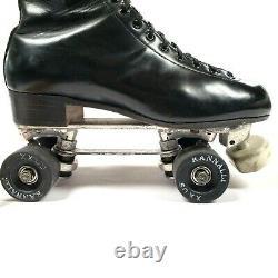VTG Riedell RedWing Boots 9.5 Custom Snyder's Super Deluxe Men's Roller Skates