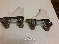 Vintage Douglas Snyder custom Betty Lytle HYDE Roller Skates Size 8-1/2 riedell