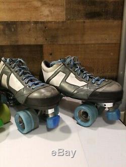 Vintage Lot Roller Skates Lazer & Riedell Mens 10