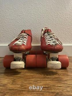 Vintage Men's Riedell USA Roller Skates Size 9.5