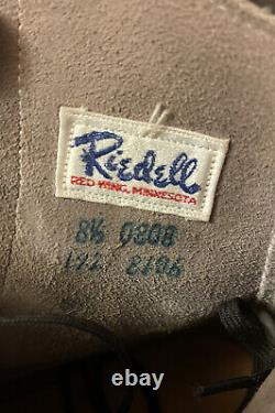 Vintage Mens Black Riedell Chicago Custom GM II Trophy Powell Bones 57MM 8.5