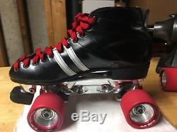 Vintage Mens Riedell 265 Speed Skates Size 7