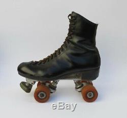 Vintage Og Riedell Mens 9 Imperial Roller Skates Stamped Tongue Redwing