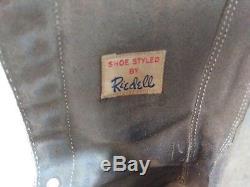 Vintage RIEDELL/DOUGLASS-SNYDER Super Deluxe Custom Built ROLLER SKATES (white)