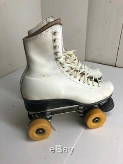 Vintage RIEDELL Roller Skates Model 297R Snyder Skate Co. Super Deluxe Size 7