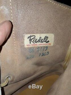 Vintage RIEDELL Roller Skates Snyder Super Deluxe Custom Built Sz 8.5 Premier