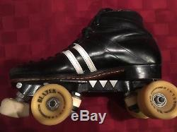 Vintage Reidell Derby Roller Skates Quad 1984 one owner