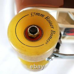 Vintage Reidell Roller Skates With Roller Bones Wheels Mens 9.5