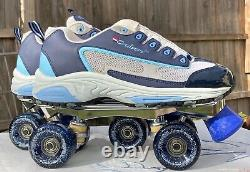 Vintage Riedell 109 Cruisers Womens Size 9 Outdoor Sneaker Style Roller Skates