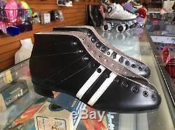 Vintage Riedell 265 Black Roller Skate Boot NOS Men's 8