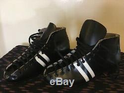 Vintage Riedell 265 Black Roller Skate Boot New Old Stock Men's 8