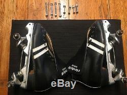 Vintage Riedell 265 Size-6 roller skates-minus wheels