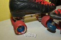 Vintage Riedell 295 Roller Skates Size 8 Sure Grip Century Plates 5 Smooth Wheel