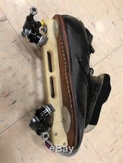 Vintage Riedell 395 Roller Skates, Laser Plates, DA 45 Trucks size 11.5 or 12.5