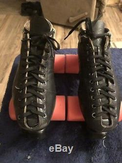 Vintage Riedell 595 Roller Skates Skate Wheels