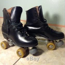 Vintage Riedell 9 Roller Skates Douglass Snyder Deluxe