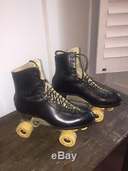 Vintage Riedell Douglas Snyder Custom Built Roller Skate Size 12 Krypto Saturn