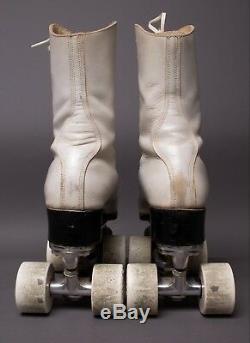 Vintage Riedell Douglas Snyder Custom Built Super Deluxe Roller Skates Size 6