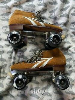 Vintage Riedell IFO Roller Sakes Mens Size 10