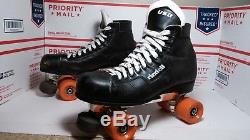 Vintage Riedell Labeda Pro Line Roller Skates Mens Size 11 Fast Shipping