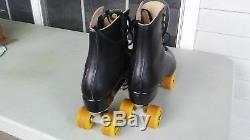 Vintage Riedell Men's Figure Skates Size 10 1/2 10.5 Roller Skates Sure Grip USA