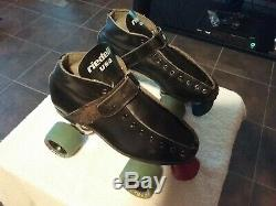Vintage Riedell RS-1000 Roller Skates Speed Skating Derby UNKNOWN Size