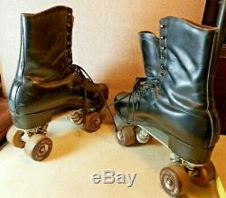 Vintage Riedell Red Wing Mens Sz 11 Douglass Snyder Imperial Roller Skate Plates