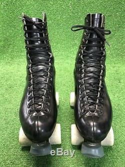 Vintage Riedell Red Wing Minnesota Sure Grip Century Roller Skates Mens SiZe 9