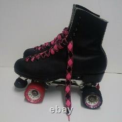 Vintage Riedell Red Wing Roller Skates Size 10A Sure Grip Roller Derby
