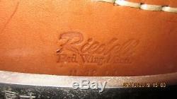 Vintage Riedell Red Wing Roller Skates With Zinger Wheels Men Sz. 12