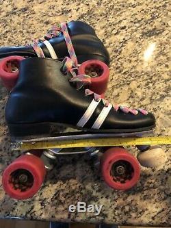 Vintage Riedell Roller Skates Speed Skates Sure Grip Invader R2 Roller Derby