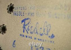 Vintage Riedell Roller Skates Sz 6 Sure Grip Suede Tan / Black vanguard 130 M
