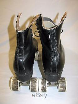 Vintage Riedell Roller Skates with RARE White Chicago VANATHANE 77K Wheels Size 10