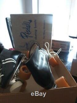Vintage Riedell Roller skating Boots men size 9
