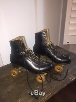 Vintage Riedell Royal Douglas Snyder Custom Built Roller Skate Size 11