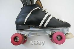 Vintage Riedell Speed Roller Skates Size 12 Jumbo Kryptos Wheels Invader Plates
