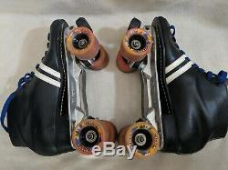 Vintage Riedell Sure-Grip Roller Skates Vanguard Wheels MEN'S SIZE 13