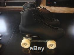 Vintage Riedell Triton Powerdyne Roller Skates Sz. 9 1/2 Mens